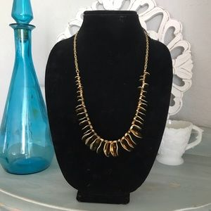 Chico's Fold Tone Necklace NEW